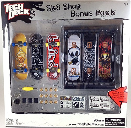 Tech Deck Blind SK8 Shop Bonus Pack Gold Bling Reaper (Tech Deck Sk8 Shop Bonus Pack compare prices)