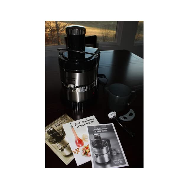 General Electric Juicer ~ Jack lalannes jlss power juicer deluxe stainless steel