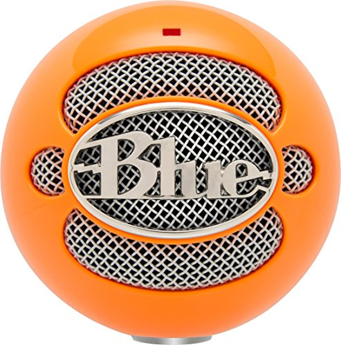 Blue Snowball USB Microphone (Bright Orange) (Condenser Microphone Orange compare prices)