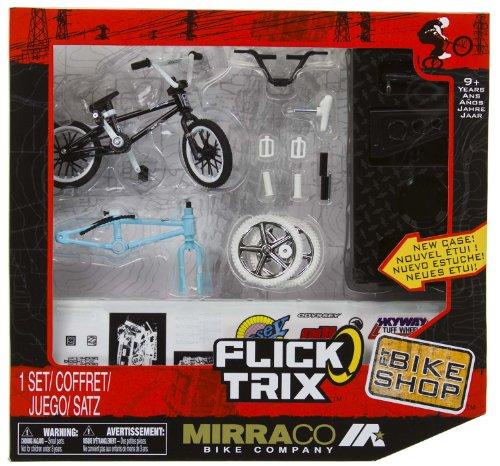 "Mirraco Bike Company: Flick Trix ~4"" BMX Finger Bike Shop Set [20032722]"