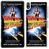 Movie Poster Case Cover for - Sony Xperia Z2 - A1271 - Back To The Future - White