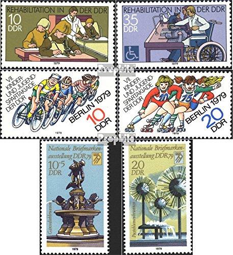 DDR 2431-2432,2433-2434, 2441-2442 (kompl.Ausg.) gestempelt 1979 Sondermarken (Briefmarken für Sammler)