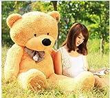 "55"" Giant Huge big Cuddly Teddy Bear Toy Doll Soft Plush Stuffed Animal plush toys gift light brown"