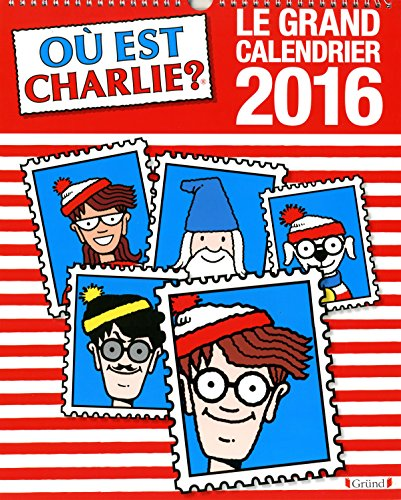 Le grand calendrier Charlie 2016