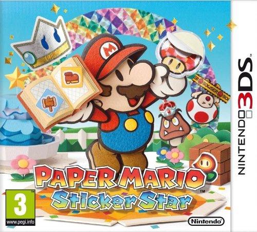 Paper Mario Sticker Star (Nintendo 3DS).