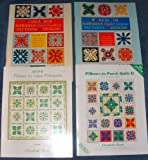 img - for Poakalani Hawaiian Quilt Cushion Patterns & Designs Volume One & Two, Pillows to Kapa Pohopoho & Pillows to Patch Quilt II (4 Books in All) book / textbook / text book