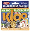 KLOO Zoo Reader Cards - Reading Games for Children