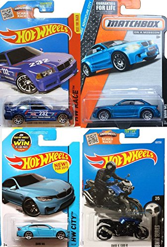 hot-wheels-bmw-blue-collection-m1-series-matchbox-e36-m3-race-blue-m4-new-casting-k-1300-r-motorcycl