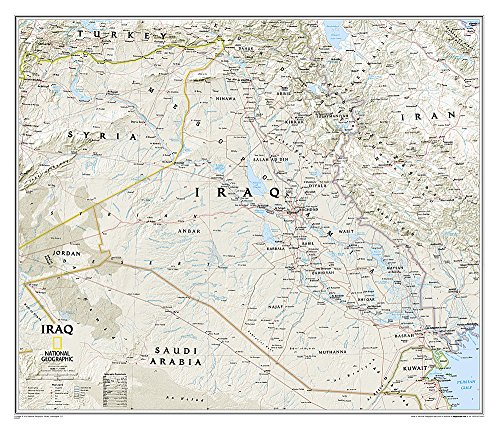 Iraq Classic [Tubed] (National Geographic Reference Map)