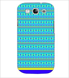 PrintDhaba Tribal Pattern D-1722 Back Case Cover for SAMSUNG GALAXY S3 (Multi-Coloured)