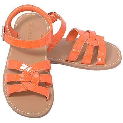 Orange sandals amazon
