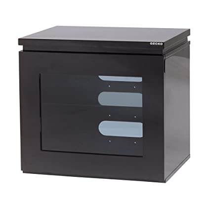 Gecko REF550-GBB Cabinet with Mounting Bracket for 32 to 55 inch TV - Black