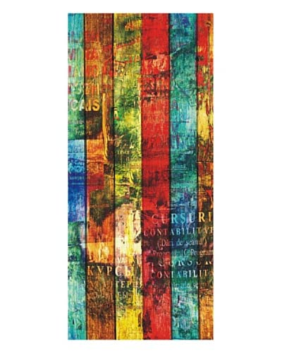 Maxi Poster Vertical Fun Stripes 90×202 cm