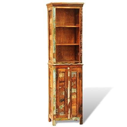 vidaXL Bibliothèque en bois recyclé style vintage