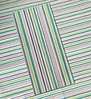 Multicoloured Striped Tissue Paper