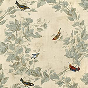 Heritage House Windsong Ivory Fabric - by the Yard
