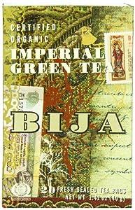 Bija  Imperial Green Tea 20 Teabags (Pack of 2)