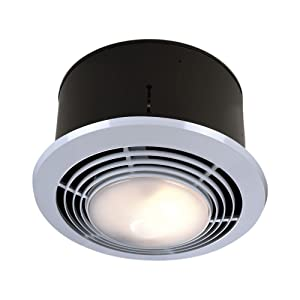 nutone 9093wh deluxe heat-a-ventlite heater with ventilator and incandescent ceiling light review