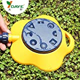 Generic Yellow : Automatic Lawn Dripper Sprinkler Garden Tools Drip Irrigation Droplet Products Armas De Pressao...