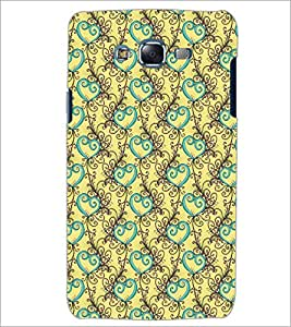 PrintDhaba Pattern D-5328 Back Case Cover for SAMSUNG GALAXY ON 7 (Multi-Coloured)