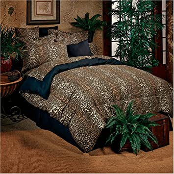 Trend Leopard Piece Bed in a Bag Set Size Queen