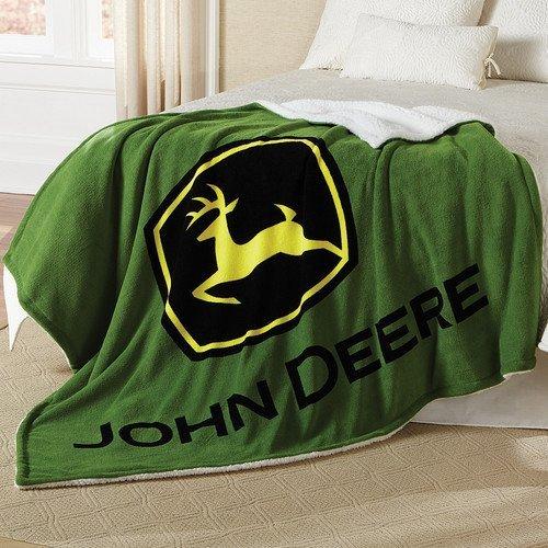 john-deere-couverture-epaisse-en-laine-polaire-sherpa-motif-logo-john-deere-vert