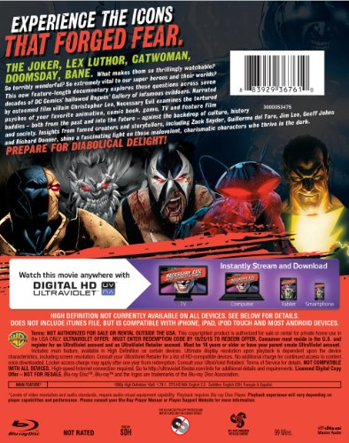 a review of the documentary necessary evil super villains in dc comics Buy a cheap copy of necessary evil: super-villains of dc  to coincide with an exciting new documentary from warner  super-villains of dc comics write a review.