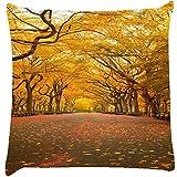 Snoogg 7 Cushion Cover Throw Pillows 16 X 16 Inch