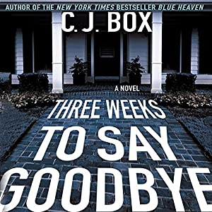 Three Weeks to Say Goodbye Audiobook