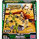 Mega Bloks Adventure Force Military Troop Pack Set #94423