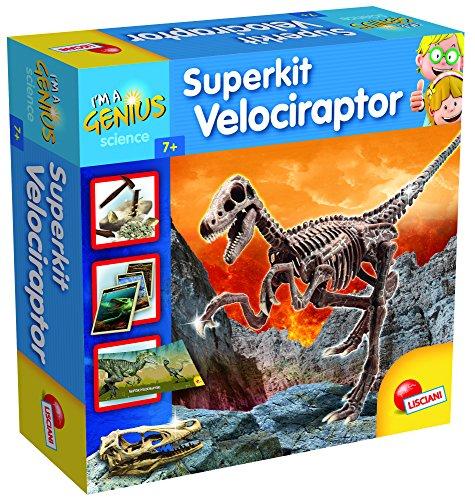 Lisciani Giochi 56422 - Gioco Piccolo Genio Super Kit Velociraptor