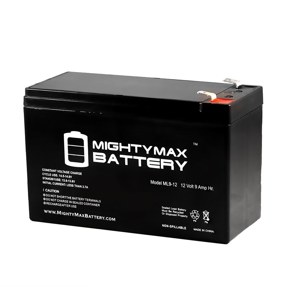 12V 9AH SLA Battery for Walker Electric Downrigger - Mighty Max Battery brand product