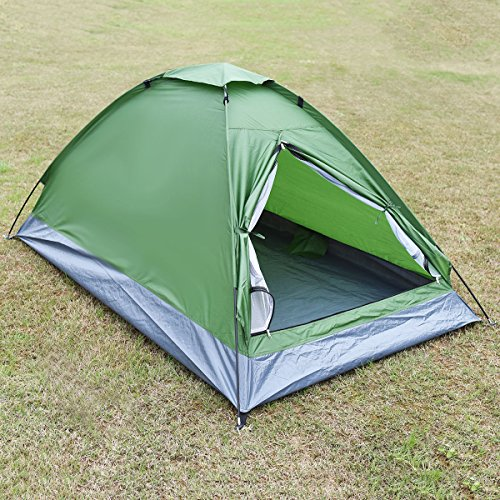 Waterproof-2-Person-C&ing-Tent-Traveling-Outdoor-Hiking- & Waterproof 2 Person Camping Tent Traveling Outdoor Hiking Double ...