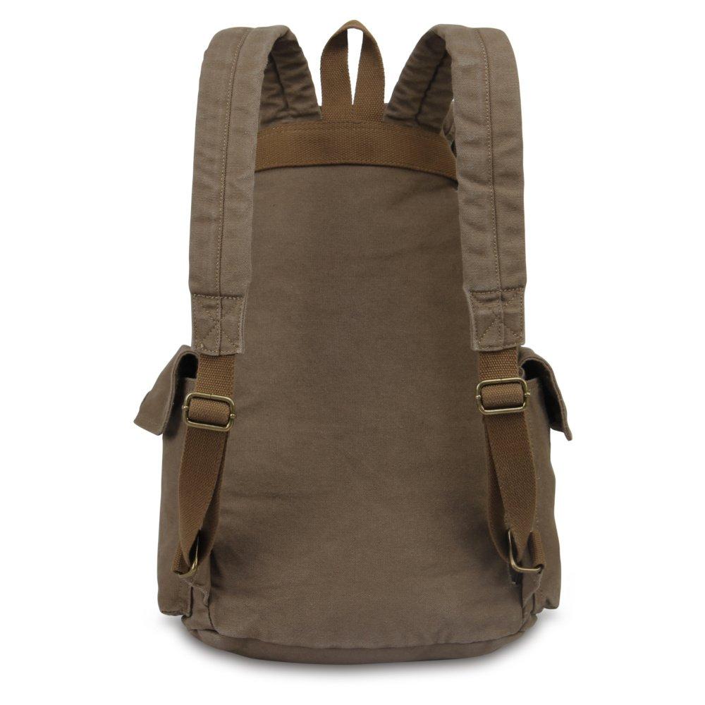 Hynes Eagle Retro Designer Canvas Backpack 28 Liter 2