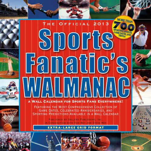 The Official Sports Fanatic Walmanac 2013 Wall (calendar)