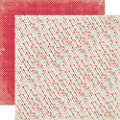 Echo Park Head Over Heels Arrows 12x12 Valentine Scrapbook Paper