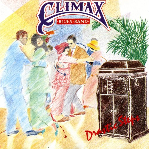 Original album cover of Drastic Steps by Climax Blues Band