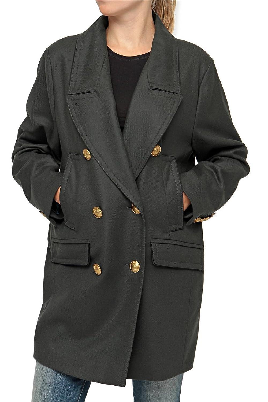 Drykorn Damen Jacke Mantel KILAH, Farbe: Dunkelgruen