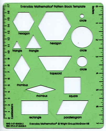 everyday math pattern block template pin pattern block templates printables svc technologies