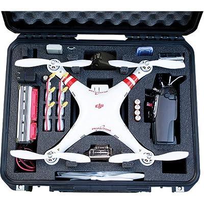 Go Professional Cases DJI Phantom Case for Quadcopter and GoPro Cameras
