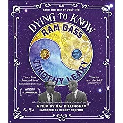 Dying to Know: Ram Dass & Timothy Leary [Blu-ray]