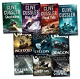 Clive Cussler Clive Cussler Dirk Pitt Series Collection 10 Books Set (Deep Six, Inca Gold) (Dirk Pitt Series)