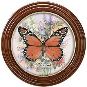 Lena Liu Magnificent Monarch Butterfly Wall Decor by The Bradford Exchange