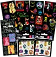 Disney Villains Stickers Party Favor Pack (268 Stickers)