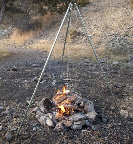 Camp Chef Lumberjack Over - the - fire Tripod Grill (Camp Chef Lumberjack compare prices)