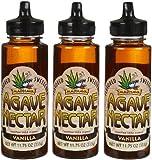 Madhava Organic Agave Nectar - Vanilla - 11.75 oz - 3 pk