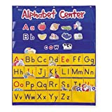 Learning Resources Alphabet Center Pocket Chart 【英語教材 壁掛けポケット】 ポケットチャート アルファベット 正規品