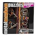 Gigamic - PPME - Puzzle - Set de 4 M�tal Puzzles - Extr�me