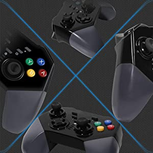 Qingta Wireless Game Controller Rechargeable Gamepad Support