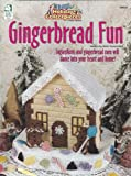 img - for Gingerbread Fun - Easy Holiday Centerpieces in Plastic Canvas by House of White Birches (186029) book / textbook / text book